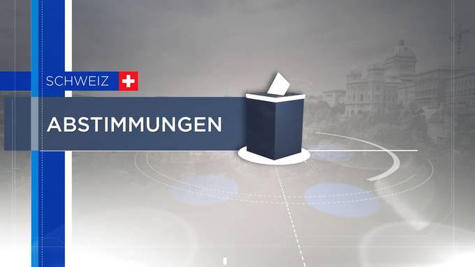 Wahl- und Abstimmungssendung - 13 Uhr