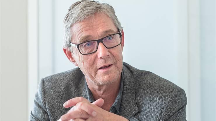 Der neue starke Mann beim FC Basel: Roland Heri.