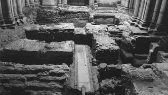 Die Überreste der Vorgängerbauten des Münsters bei der Galluspforte wurden 1966 entdeckt. Jetzt erst kann die Grabung ausgewertet werden.