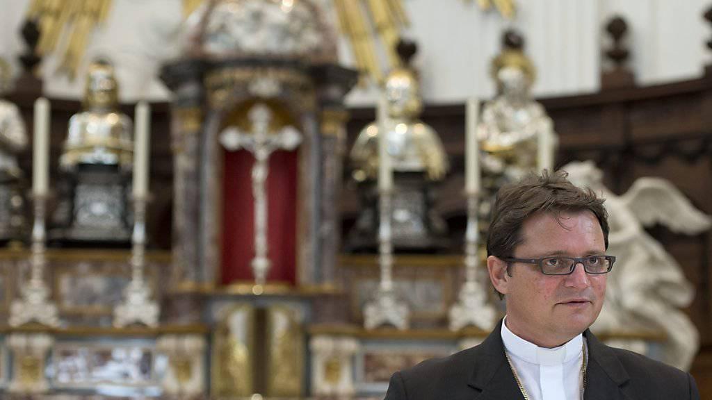 Nimmt die Schweiz und Saudi-Arabien ins Gebet: Felix Gmür, Bischof von Basel. (Archiv)