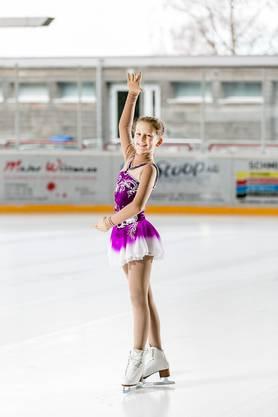 Liel Honegger (10) hat im letzten Jahr die Clubmeisterschaft ihrer Sternli-Kategorie gewonnen.