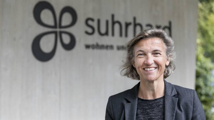 Ursula Baumann, Geschäftsführerin Alterszentrum Suhrhard