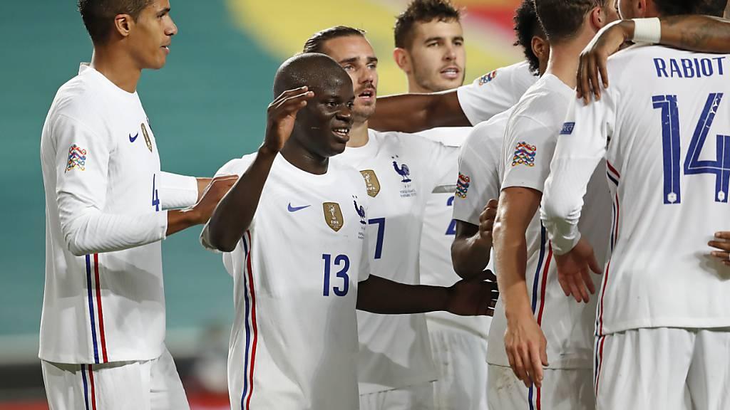 Frankreich qualifiziert sich für das Finalturnier