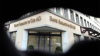 Das Informationsleck bei der Bank Sarasin hat dem Geldinstitut geschadet.Walter Bieri/KEYSTONE