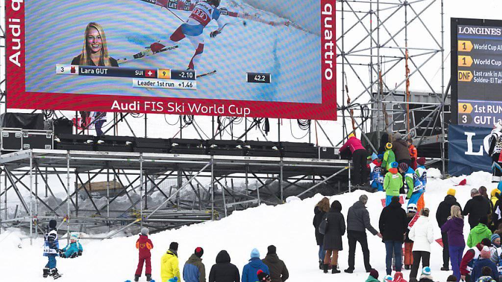 Auf der Lenzerheide wird die abgesagte Kombination von St. Moritz nachgeholt