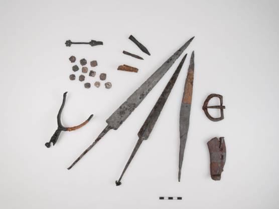 Ob die neu entdeckten Funde tatsächlich an der Schlacht am Morgarten Verwendung fanden, ist ungewiss
