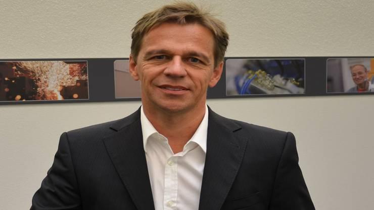 Für CEO Werner Schmidli kommt eine Verlagerung der Schlatter Industries AG ins Ausland trotz des Währungsnachteils nicht infrage
