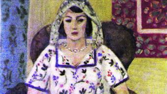 """Das Gemälde """"Sitzende Frau"""" von Henri Matisse gehört zu den 1400 Bildern, die Cornelius Gurlitt in München hortete: Anne Sinclair, Enkelin des Kunsthändlers Paul Rosenberg, erhebt Anspruch darauf."""