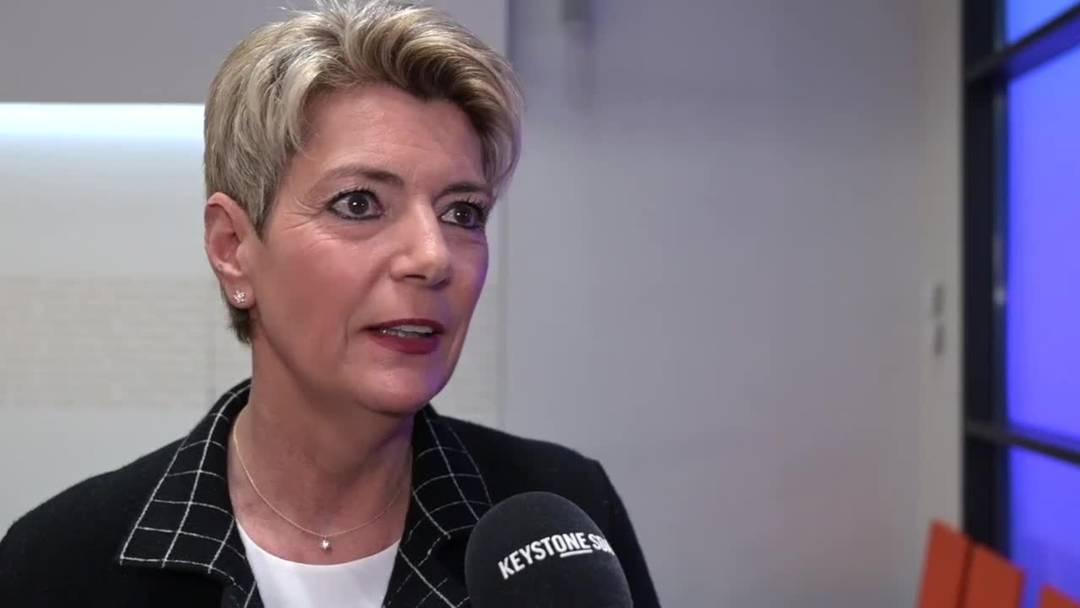 Karin Keller-Sutter: «Das Ja ist ein Signal der Bevölkerung»