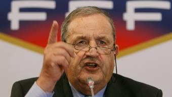 Interimspräsident Fernand Duchaussoy