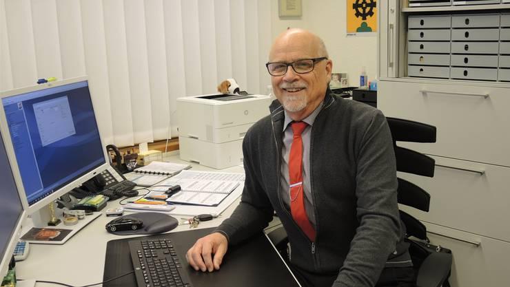Am 9. Februar wird Hans Peter Meier seinen letzten Arbeitstag auf der Gemeindekanzlei Mülligen haben.
