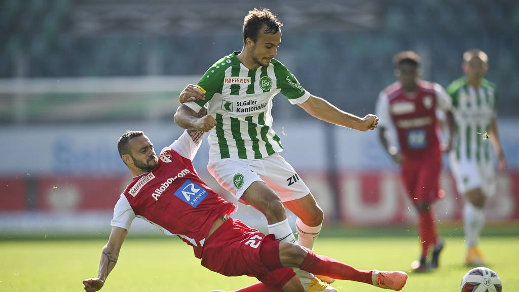 FC St.Gallen gewinnt mit 1:0 gegen den FC Sion