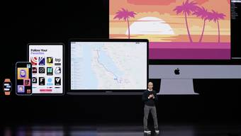 Apple-Chef Tim Cook hat am Montag die Lancierung eines neuen Medienabos angekündigt, doch nicht alle grossen US-Zeitungen machen mir.