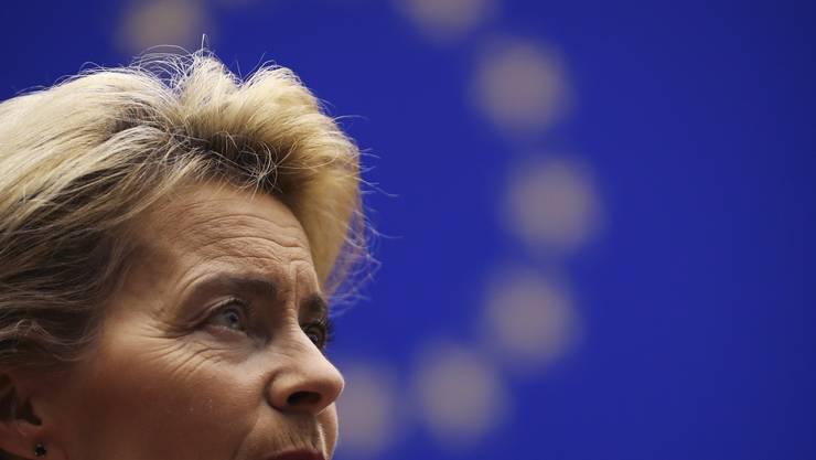 Die künftige EU-Kommissionspräsidentin Ursula von der Leyen.