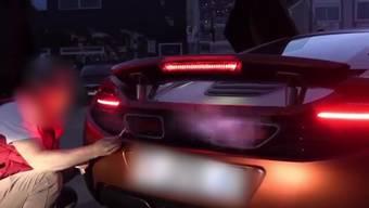 Dekadentes Gehabe am Hafen von Monaco: Ein Ausschnitt aus dem Video.