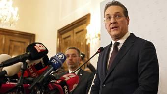 FPÖ-Chef und Vizekanzler Heinz-Christian Strache musste die Konsequenzen aus der Video-Affäre ziehen.