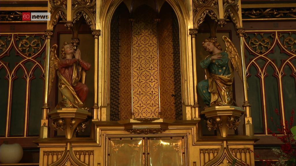 Gestohlenes Kreuz