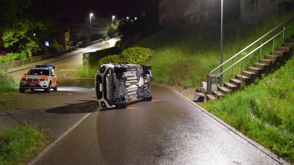 Betrunkener Rentner schrottet Auto – Führerausweis entzogen