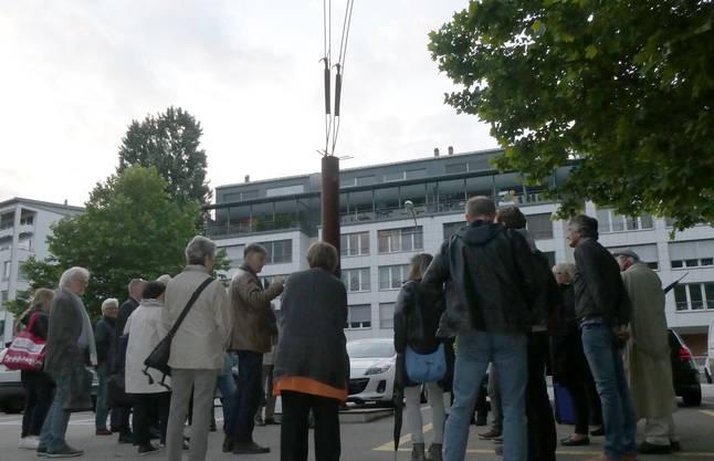 In der Schützenmatte wurde vor zehn Jahren das Denkmal von Schang Hutter errichtet, das an den Streik und seine Opfer erinnert.