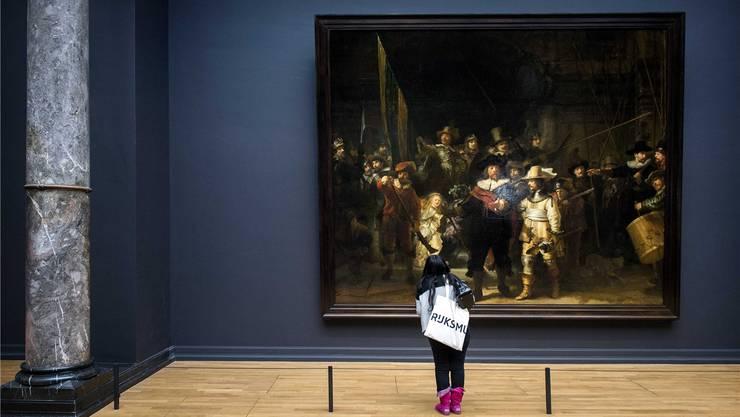 Das einzige Bild, das an seinen ursprünglichen Platz zurückkehrte: Rembrandts «Die Nachtwache». Key/KOEN VAN WEEL