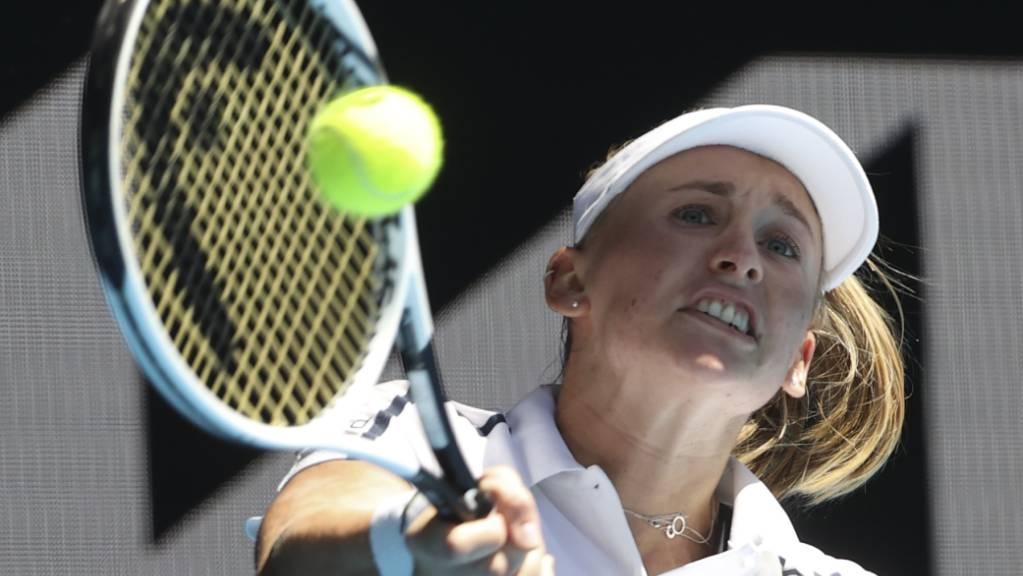 Die Mühe hat sich gelohnt: Jil Teichmann gehört zum ersten Mal zu den 50 besten Tennisspielerinnen der Welt.