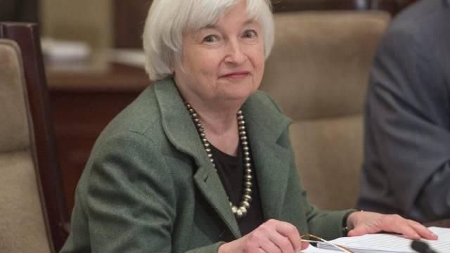 US-Notenbankchefin Yellen bleibt bei der aktuellen Geldpolitik