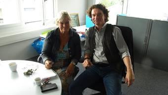 Start geglückt: das Co-Schulleitungsduo Monika Fischer und Daniel Mettauer.
