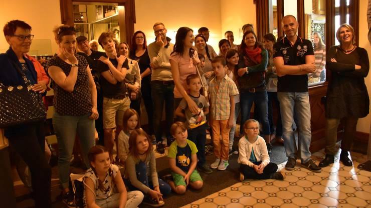 Die Geschichte stiess bei den Zuhörern jeder Altersklasse im Kindermuseum Baden auf offene Ohren.