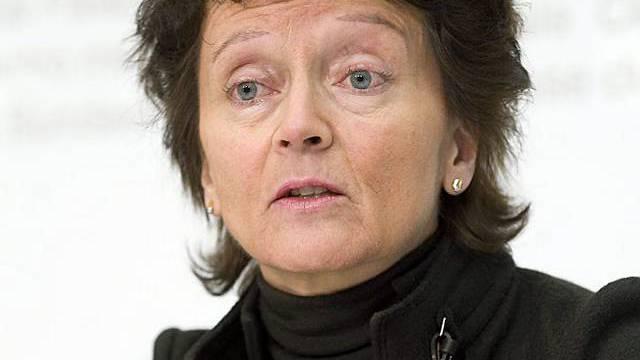 Widmer-Schlumpf: Häusliche Gewalt sei in der Schweiz eine Tatsache