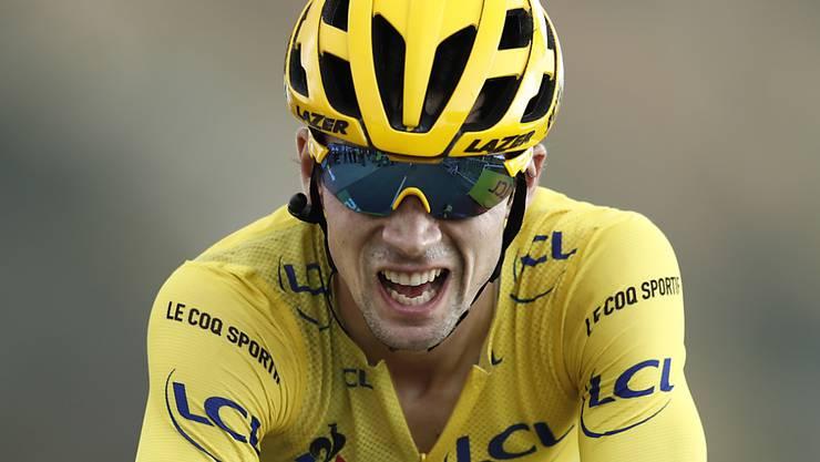 Primoz Roglic könnte als erster Slowene die Tour de France gewinnen