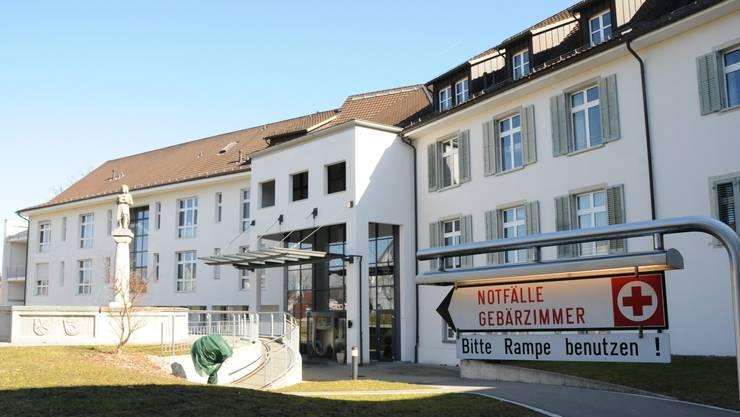 Das Asana Spital in Leuggern.