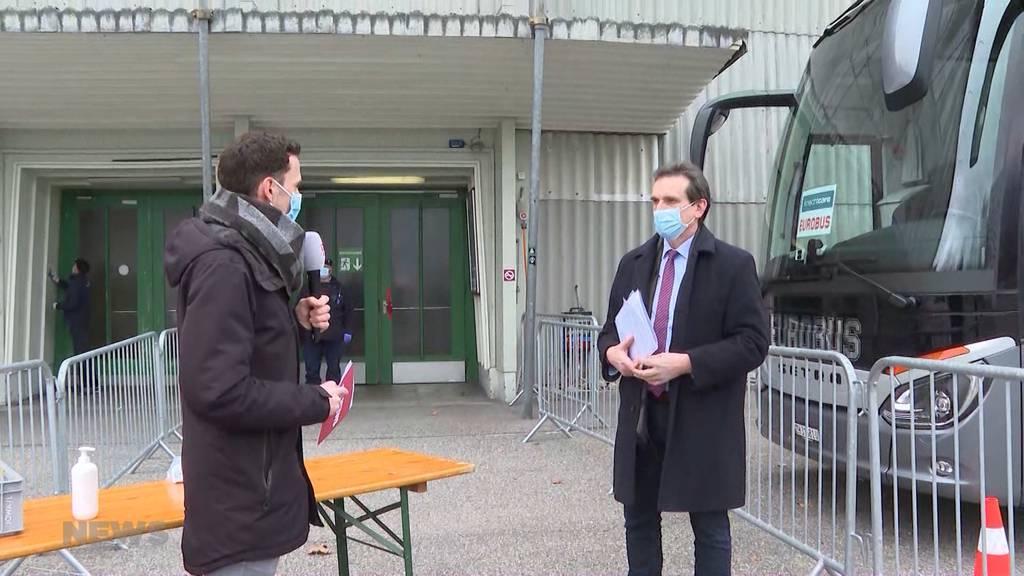 Erster mobiler Test-Bus im Kanton Bern