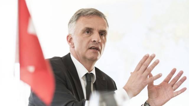 Der neue Bundespräsident Didier Burkhalter (Archiv)