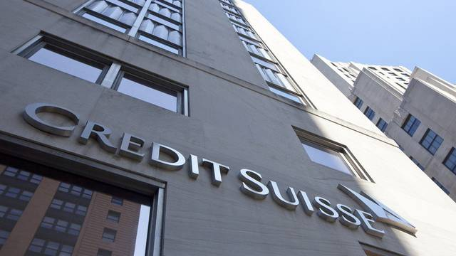 Filiale der Credit Suisse in New York. In den USA verdüstern sich die Perspektiven der Bank zusehends.