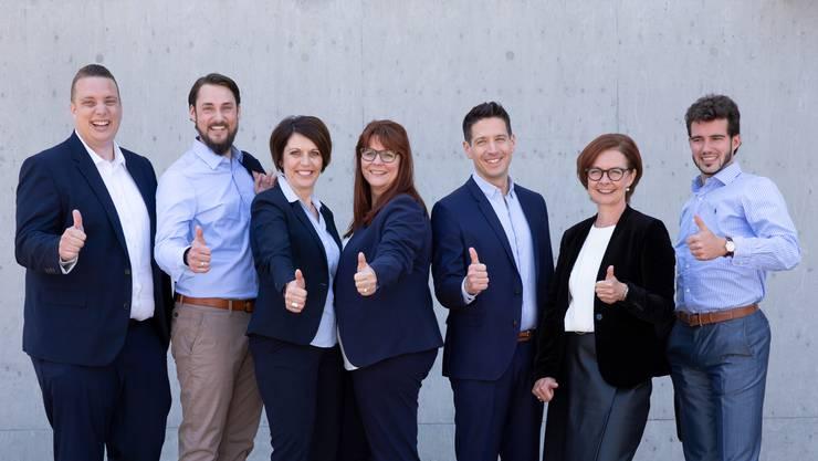 Dass FDP-Team mit den drei Frauen und vier Männern