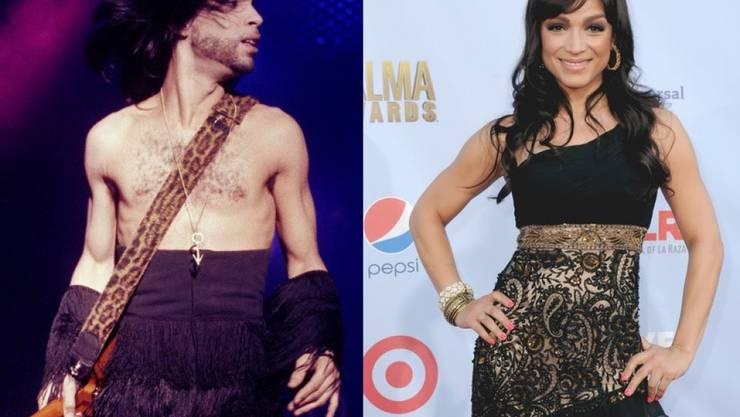 Tragisches Schicksal: Der verstorbene Musiker Prince und seine Ex-Frau Mayte Garcia haben ihren gemeinsamen Sohn nur wenige Tage nach dessen Geburt verloren. (Archivbilder)