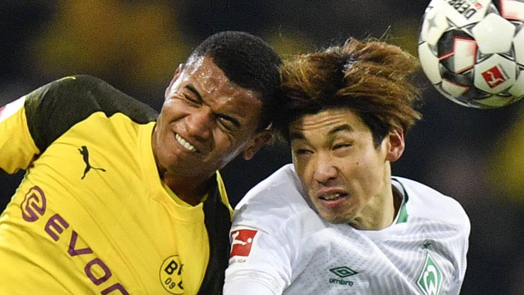 Manuel Akanji (links) erlitt am Dienstag einen Muskelfaserriss