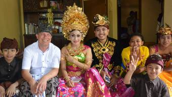 Heinz Schneider nach Bali ausgewandert
