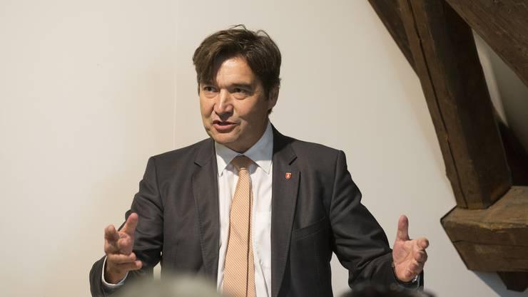 Stadtpräsident François Scheidegger sagt, wie die Stadt das Geld einsetzen will.