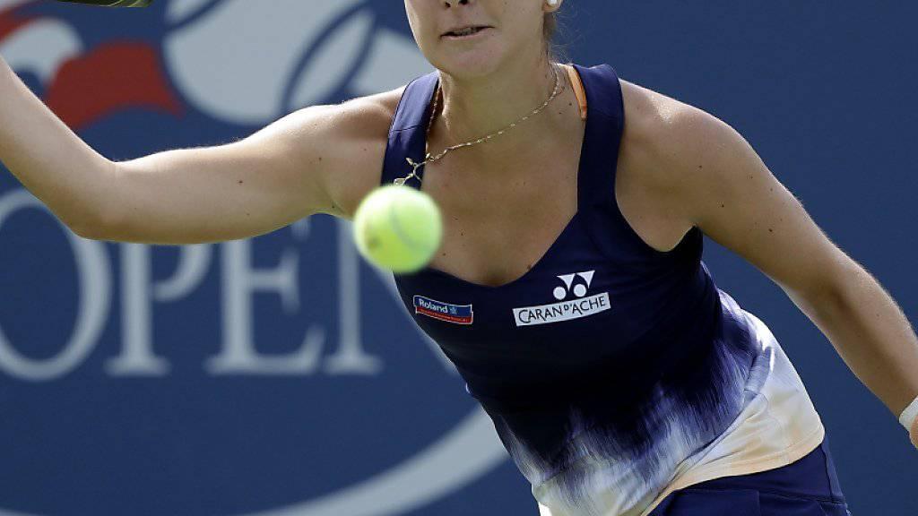 Belinda Bencic beweist aufsteigende Form
