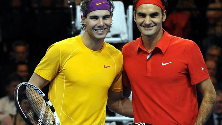 Ein Benefizspiel Im Zeichen Von Federer Tennis Sport Aargauer Zeitung