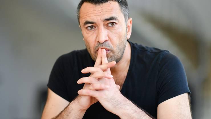 Der Schauspieler Mehmet Kurtulus am 20. Juni 2017 in Worms vor Beginn der Proben zu den Nibelungen-Festspielen 2017. (Archiv)