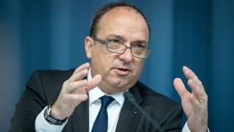 Finanzdirektor Markus Dieth: «Ohne Sondereffekte würde lediglich ein Überschuss von rund 50 Millionen Franken resultieren.»