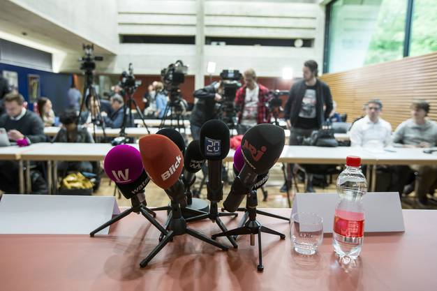 Die Medienkonferenz fand in Schafisheim statt.