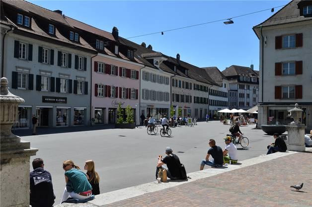 Ein beliebter Ort zum Verweilen und Flanieren: Die Kirchgasse