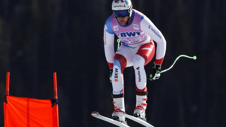Marc Gisin während des Trainings in Beaver Creek