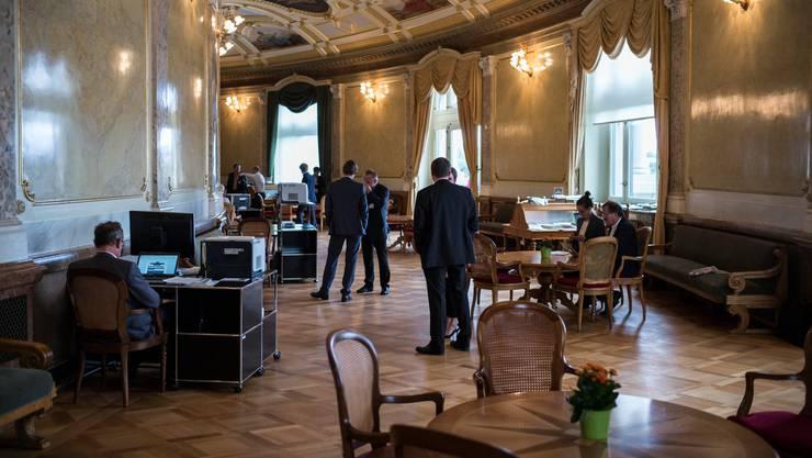 Wem erteilen die Solothurner Parlamentarier Zutrittserlaubnis für das Bundeshaus?