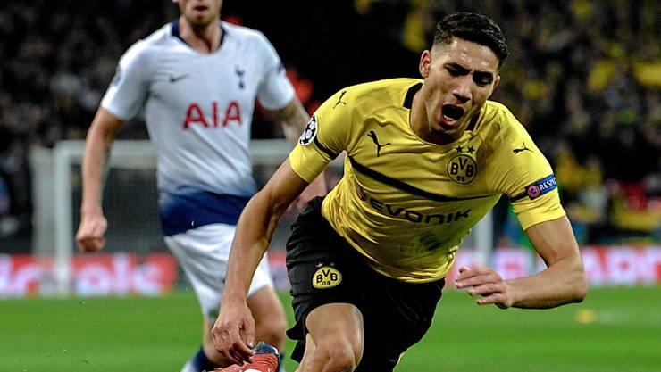 Dortmunds Achraf Hakimi kann in dieser Saison nicht mehr spielen