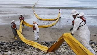 80'000 Liter Erdöl liefen ins Meer vor Santa Barbara