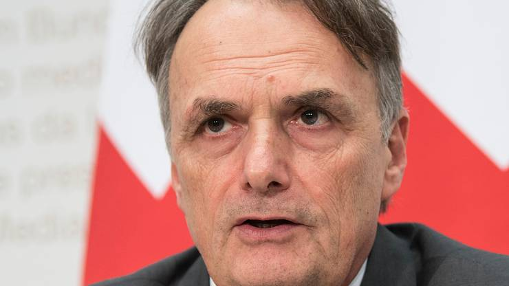 Staatssekretär Mario Gattiker.